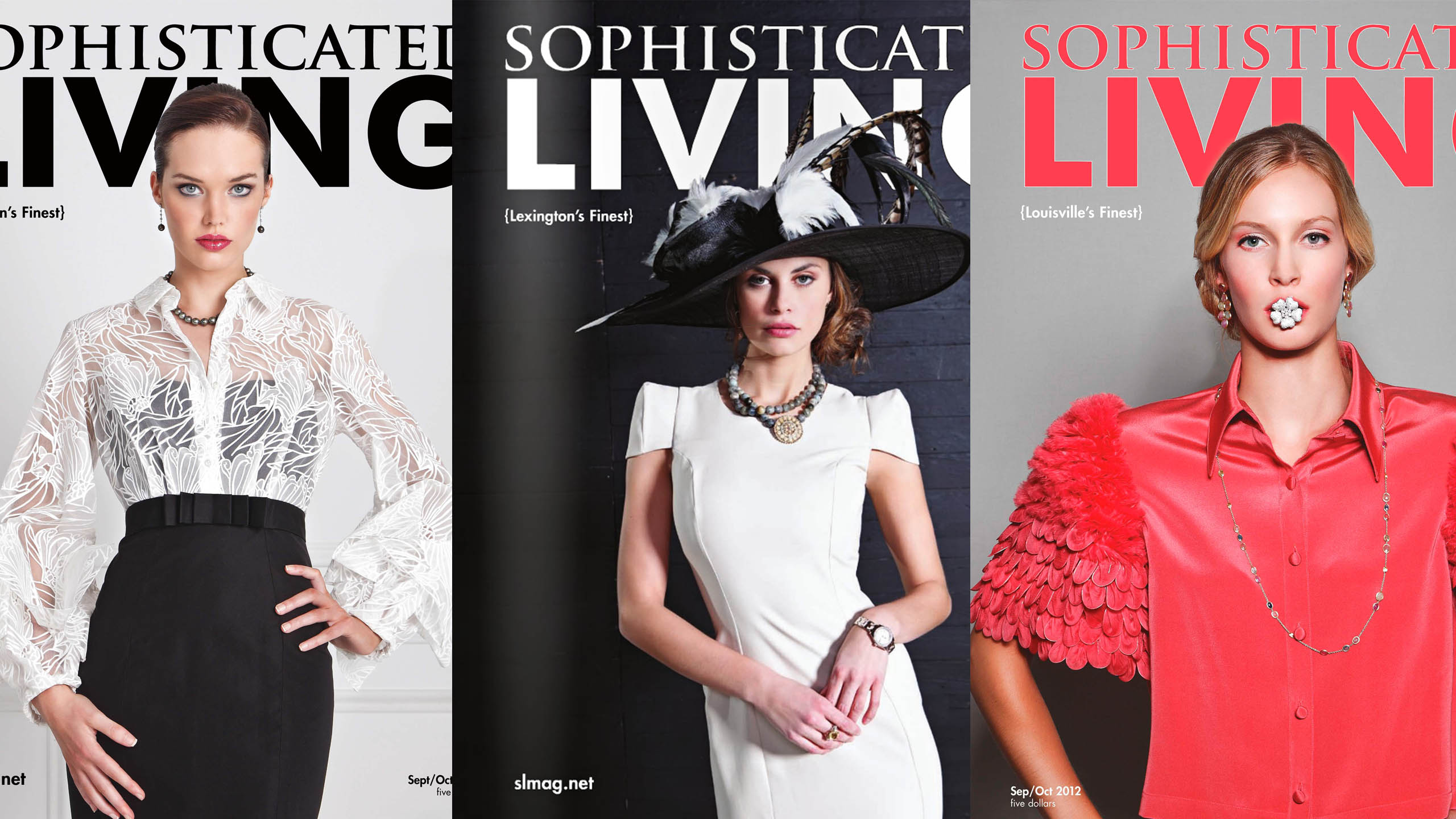 Sophisticated Living Magazine Covers by Andrew Kung Photography